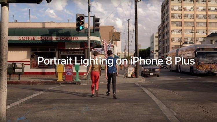 Apple spot iPhone 8 Plus