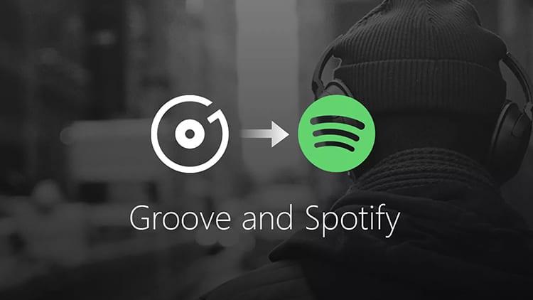 Microsoft sospenderà Groove Music: in arrivo una collaborazione con Spotify
