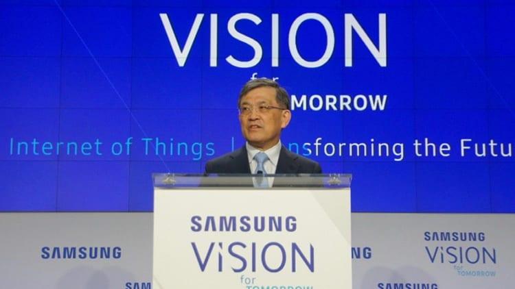 """Samsung Electronics in """"una crisi senza precedenti"""", il Vicepresidente e CEO annuncia le sue dimissioni"""