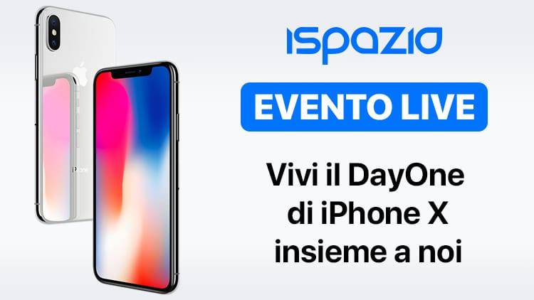 Vivi il Day One dell'iPhone X insieme a noi: da Milano (Carosello) tanti Gadget in regalo + Raduno iSpazio [Video]