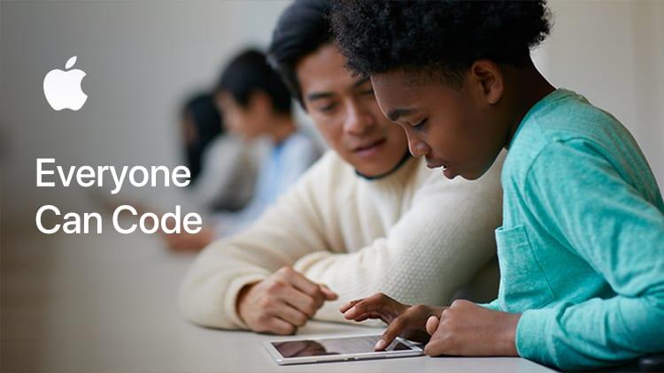 """Continua l'iniziativa """"Everyone can code"""" di Apple"""