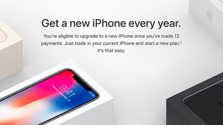 Apple attiva l'iPhone Upgrade Program anche per iPhone X