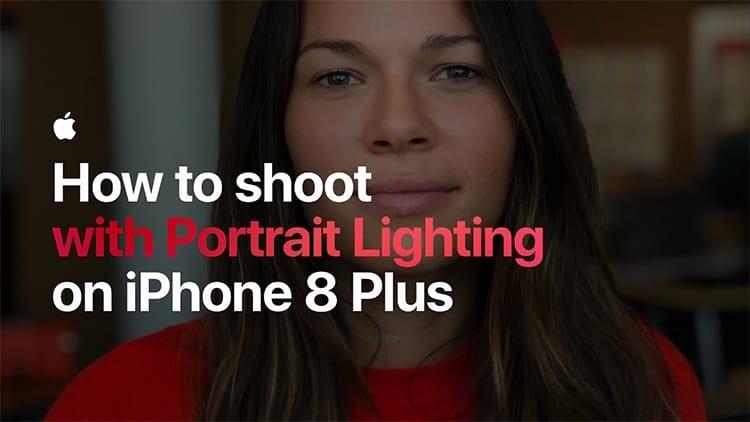 Apple mostra come scattare foto in modalità ritratto su iPhone 8 Plus con i nuovi effetti luce [Video]