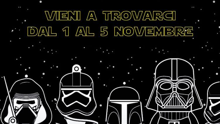 Med Store porta Siri a Lucca Comics tra droidi, droni e gli eroi di Star Wars
