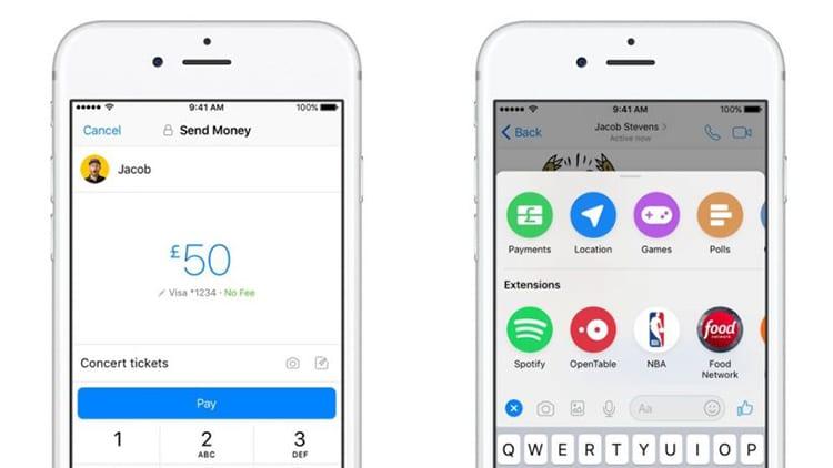Facebook lancia il servizio di pagamenti all'interno di Messenger anche nel Regno Unito