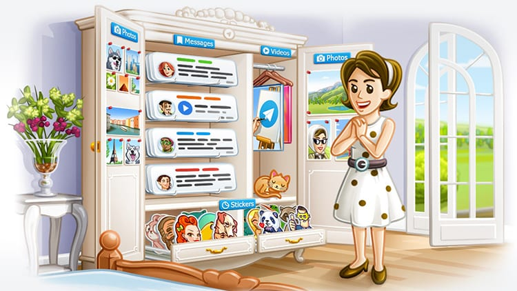 Telegram si aggiorna: album, messaggi salvati, migliore ricerca e supporto per iPhone X!
