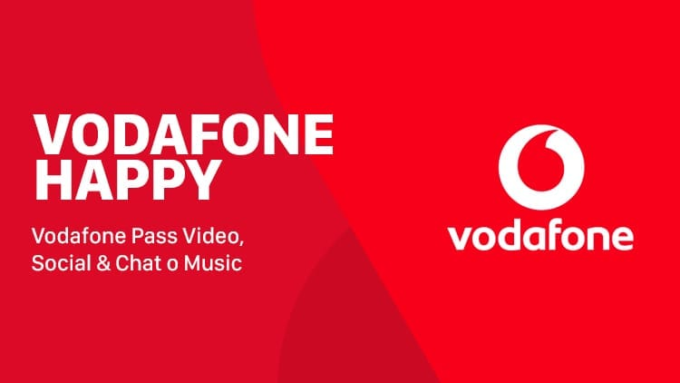 Vodafone Happy Friday: in regalo Pass Video, Social & Chat o Music per un mese!
