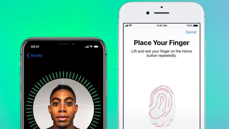 Face ID vs Touch ID: Qual è il sistema di sblocco più veloce?