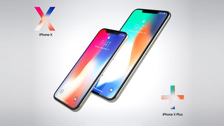 Un iPhone X Plus (versione più grande) è il protagonista del nuovo concept di Martin Hajek