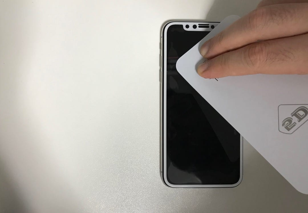 custodia iphone x vetro