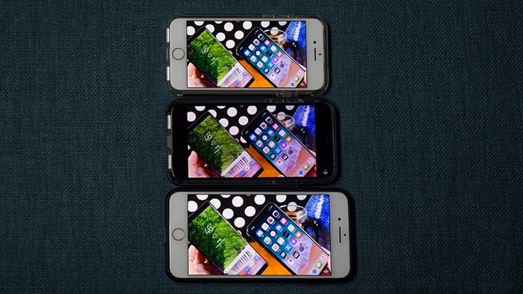 Lo schermo da 5,8″ di iPhone X risulta molto più piccolo di quello di iPhone Plus, soprattutto nei video