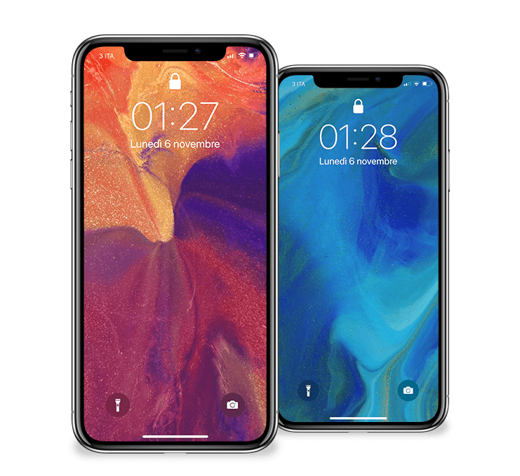 Scarica I 4 Nuovi Sfondi Ufficiali Di Iphone X Visti Nello Spot
