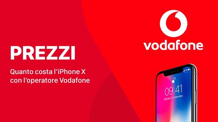 Ecco i prezzi dell'iPhone X con Vodafone