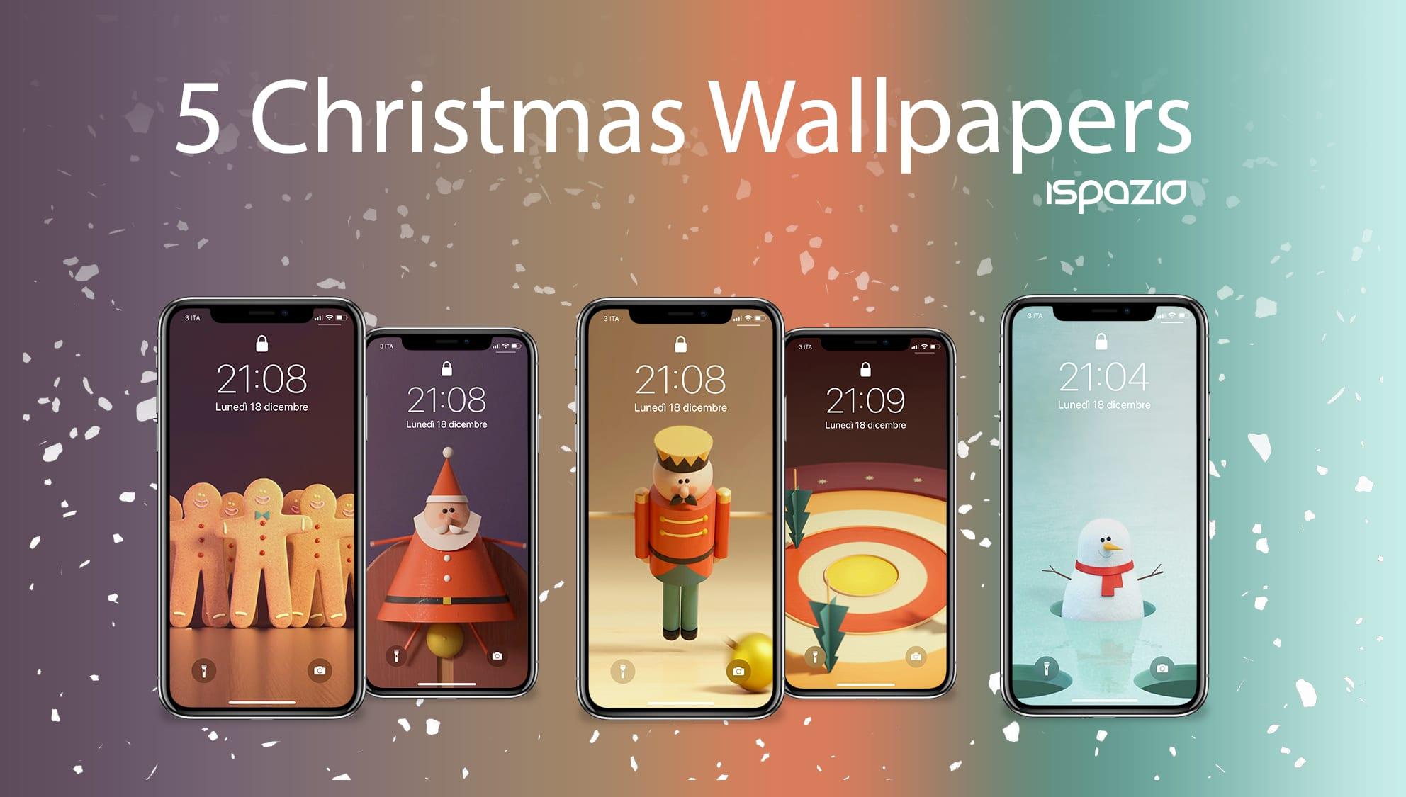 Sfondi Natalizi Apple.Natale E Alle Porte Altri 8 Sfondi Natalizi Per I Vostri Iphone