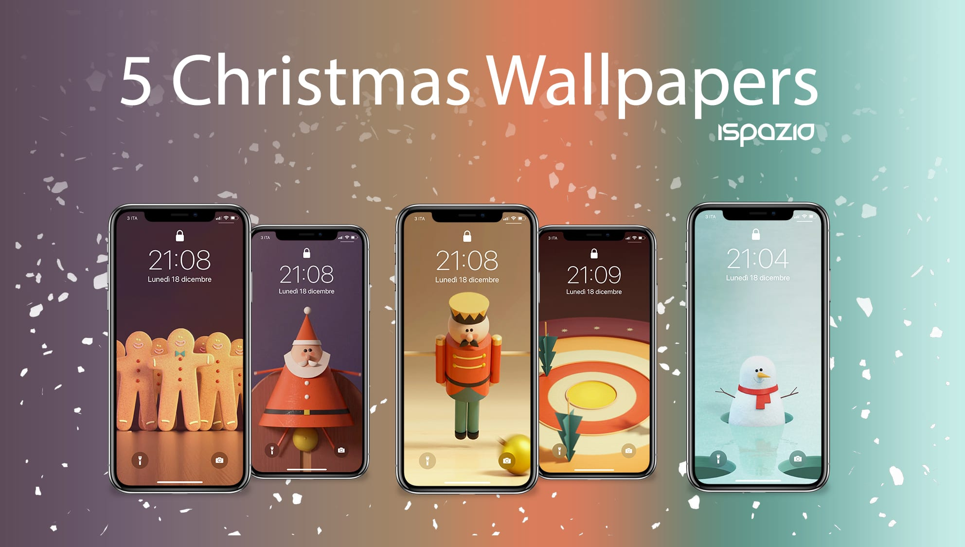 Youtube Sfondi Natalizi.Natale E Alle Porte Altri 8 Sfondi Natalizi Per I Vostri Iphone Wallpaperselection 141 Ispazio