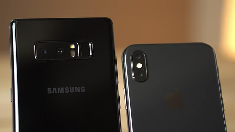Iphone x vs galaxy note 8 quale dispositivo ha la for Smartphone migliore fotocamera 2017