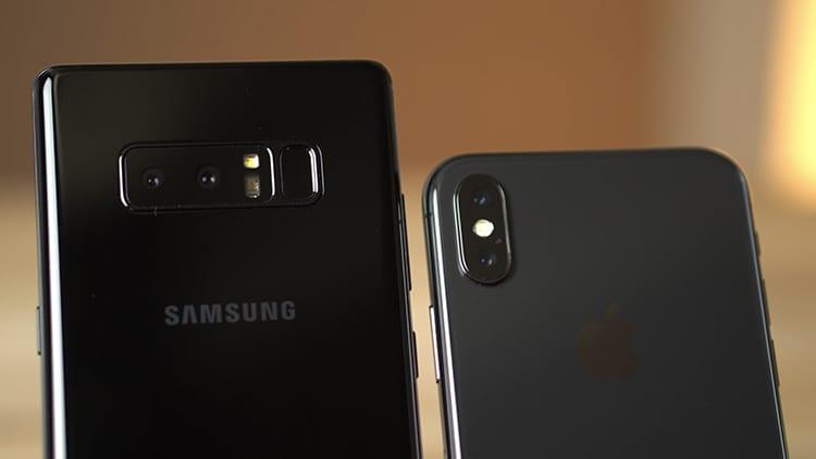 iPhone X vs Galaxy Note 8: quale dispositivo ha la fotocamera migliore? [Video]