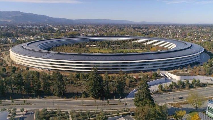 Apple Park: ecco il tour di dicembre a bordo del drone [Video]
