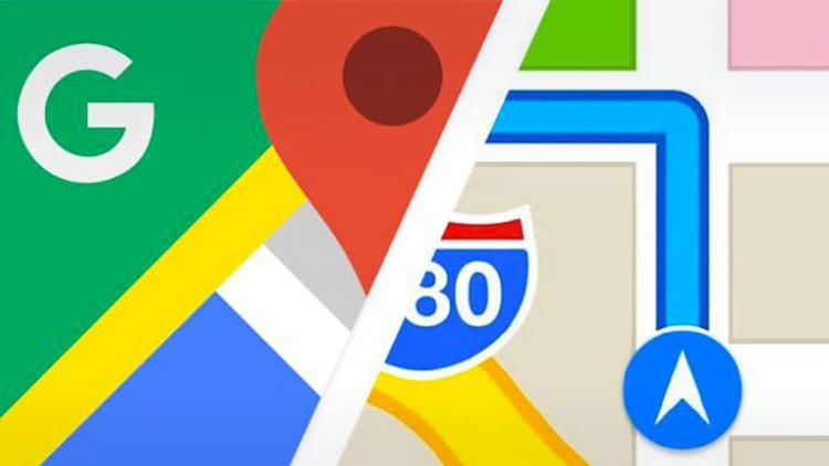 Google Maps vs Apple Maps: le differenze si sentono ancora molto