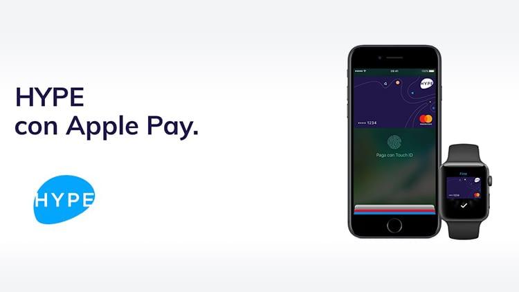 Anche Hype da oggi supporta Apple Pay in Italia