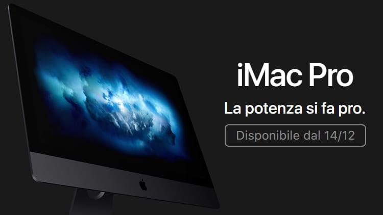 UFFICIALE: il nuovo iMac Pro arriva il 14 Dicembre! [Video]