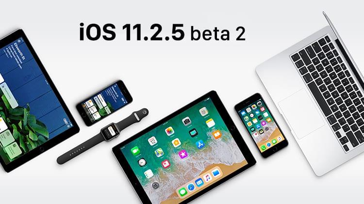 Apple rilascia iOS 11.2.5 beta 2 (disponibile anche la Beta Pubblica)