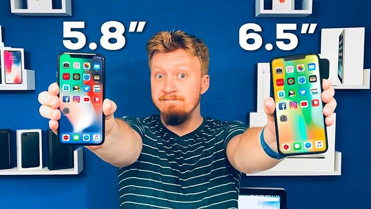 """iPhone X Plus: Ecco il primo hands-on dell'ipotetica versione """"più grande"""" [Video]"""