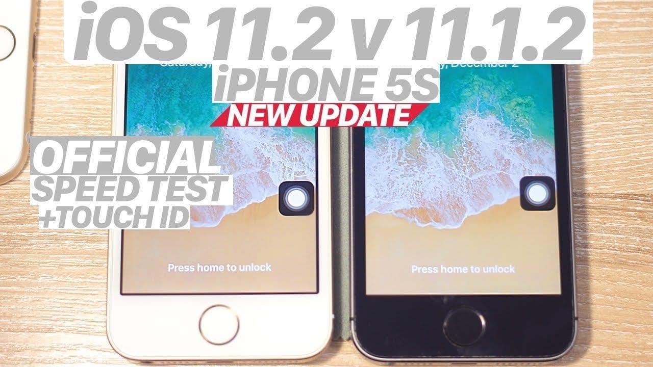 Speed Test: iOS 11.2 è più fluido e performante rispetto ad iOS 11.1.2 [Video]