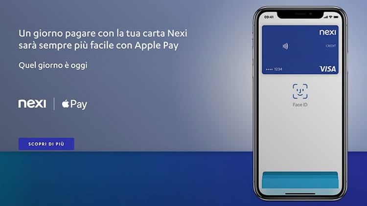 Apple Pay: arriva il supporto anche per BCC e Nexi (CartaSi)