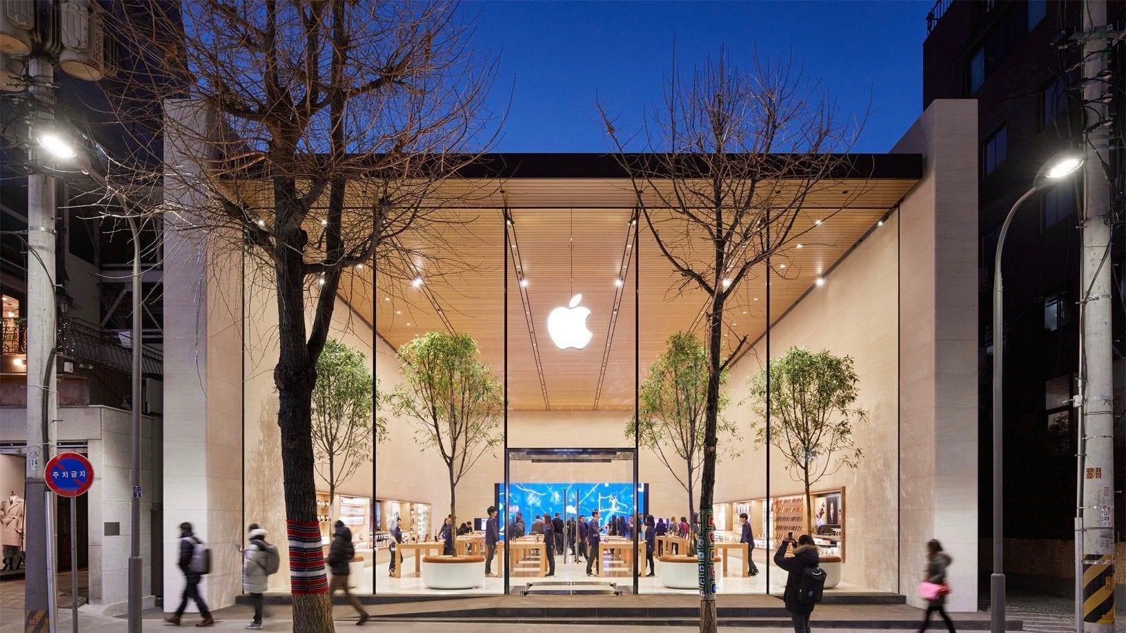 Apple rivela lo store di Seoul, nuove immagini del nuovo Apple Store in vista dell'apertura di sabato