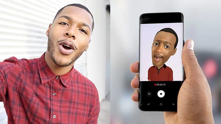 Animoji di iPhone X e AR Emoji di Galaxy S9/S9+: ecco le differenze