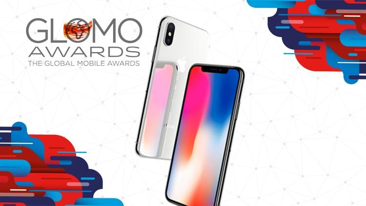 MWC 2018: iPhone X premiato ai GLOMO come miglior smartphone in commercio