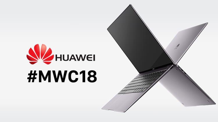 MWC 2018: Huawei presenta MateBook X Pro e MediaPad M5 Series