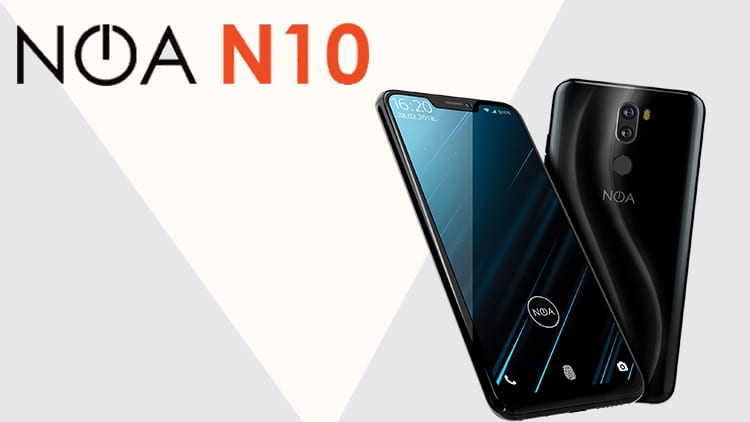 MWC 2018: NOA presenta l'N10 con display da 18:9 e Notch