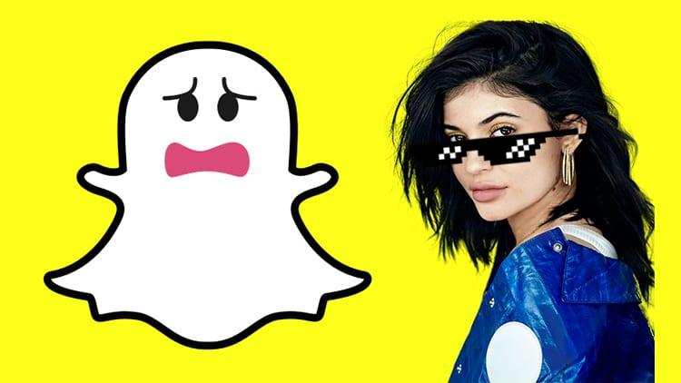 Snapchat crolla in borsa dopo un tweet al veleno di Kylie Jenner