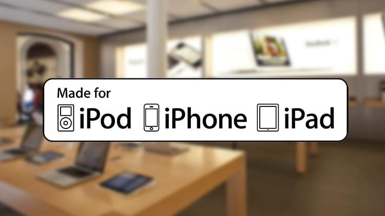 Apple aggiorna i loghi del suo programma MFi per i produttori di accessori
