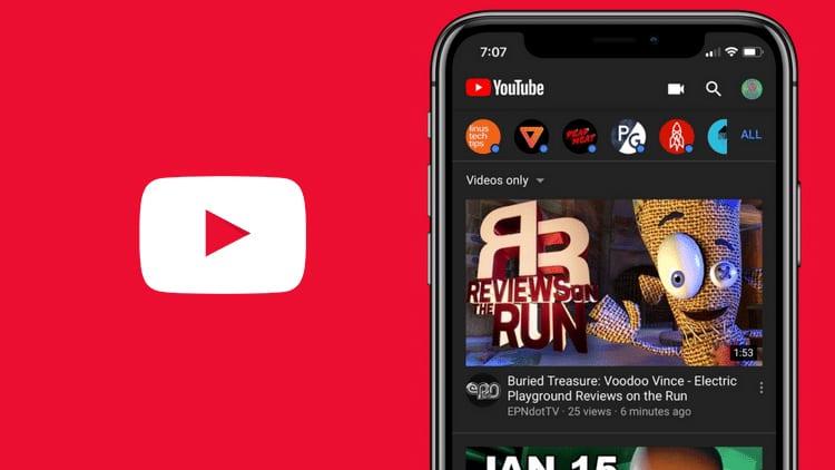YouTube: in roll-out il Tema Scuro per l'applicazione per iOS
