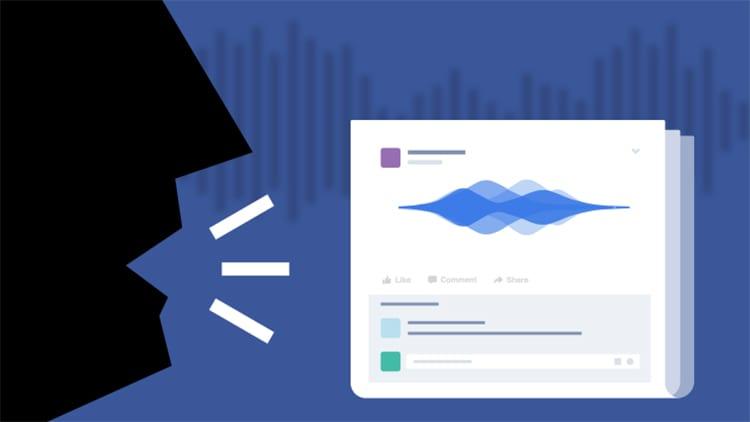 Su Facebook potremo pubblicare anche i Messaggi vocali come aggiornamento di stato