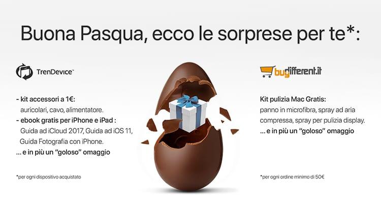 Buona Pasqua da TrenDevice e BuyDifferent: aprite l'uovo, c'è una bella sorpresa per voi!