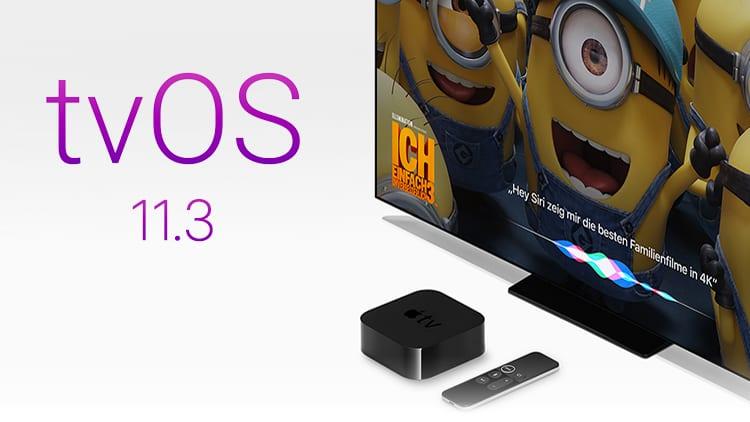 Apple rilascia tvOS 11.3: ecco tutte le Novità