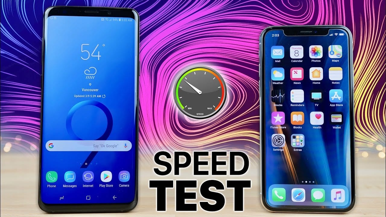 iPhone X vs Galaxy S9: ecco il primo confronto prestazionale tra i due top di gamma [Video]