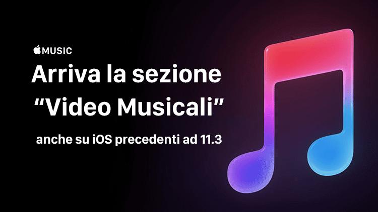"""Apple Music: arriva la nuova sezione """"Videoclip"""" con tanti video musicali"""