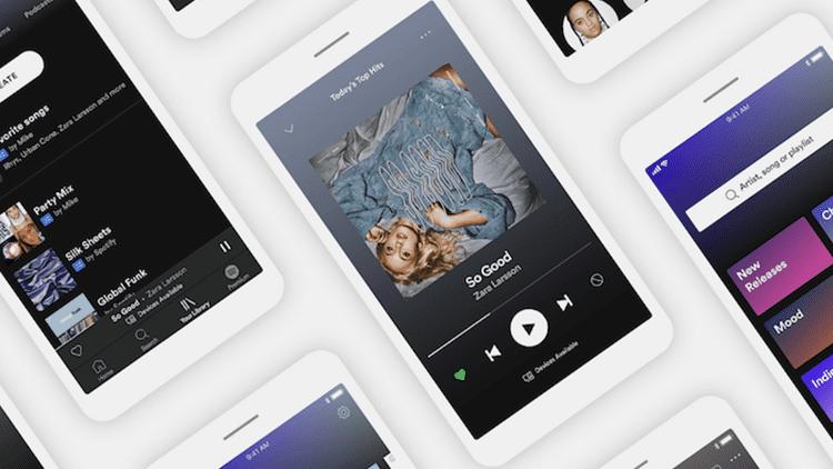 Spotify, disponibile la nuova interfaccia utente per l'app iOS: ecco cosa cambia
