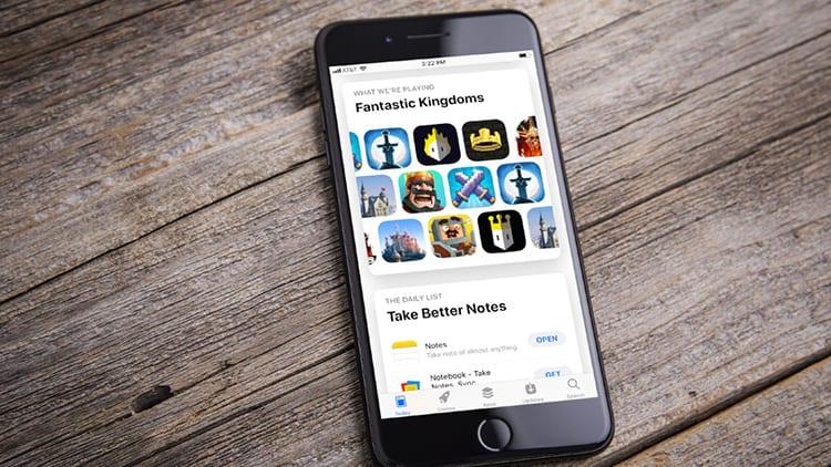 Il nuovo design dell'App Store è vincente: i download aumentano dell'800%