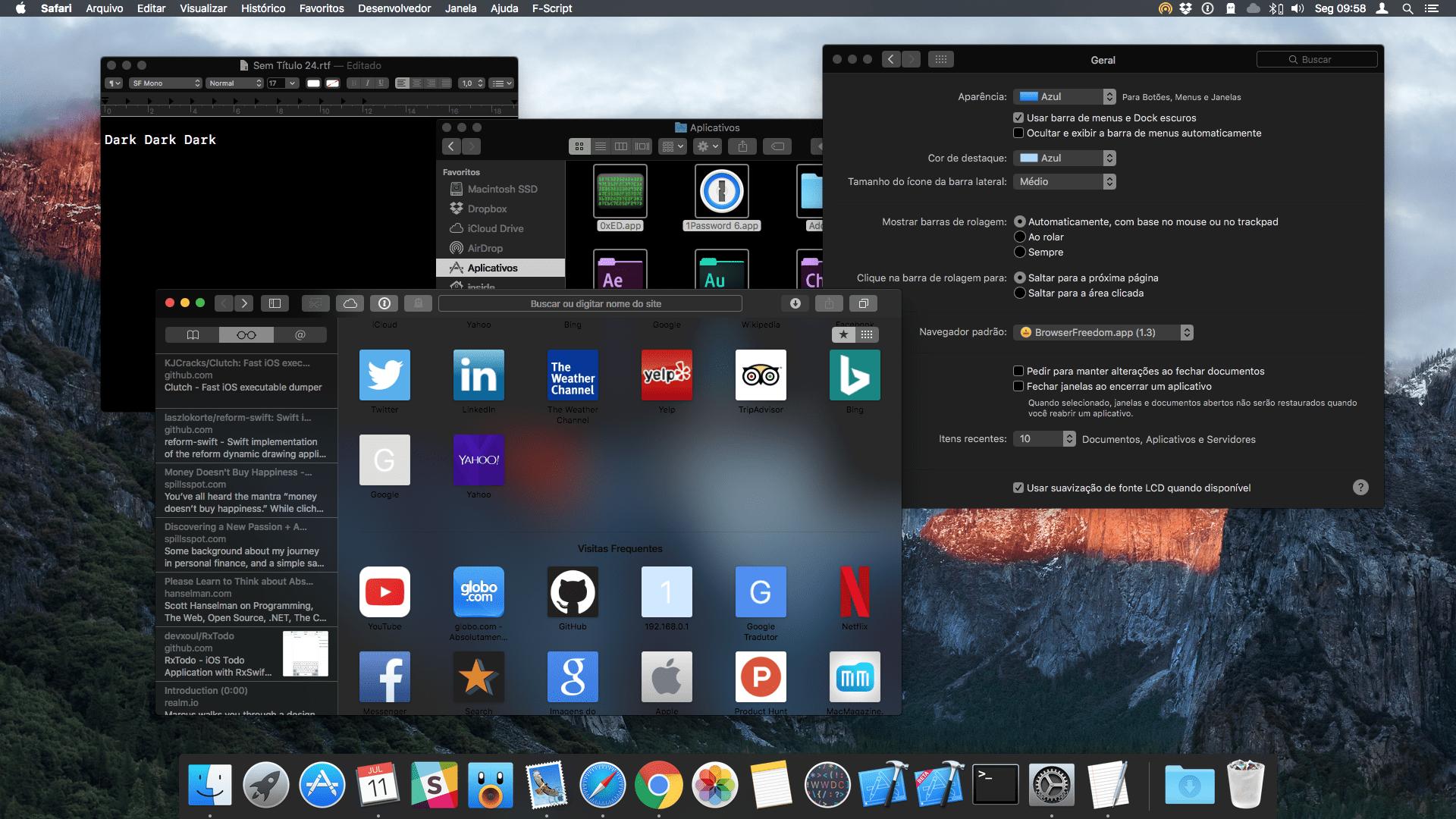 Trovate tracce di una vera Dark Mode per macOS 10.14