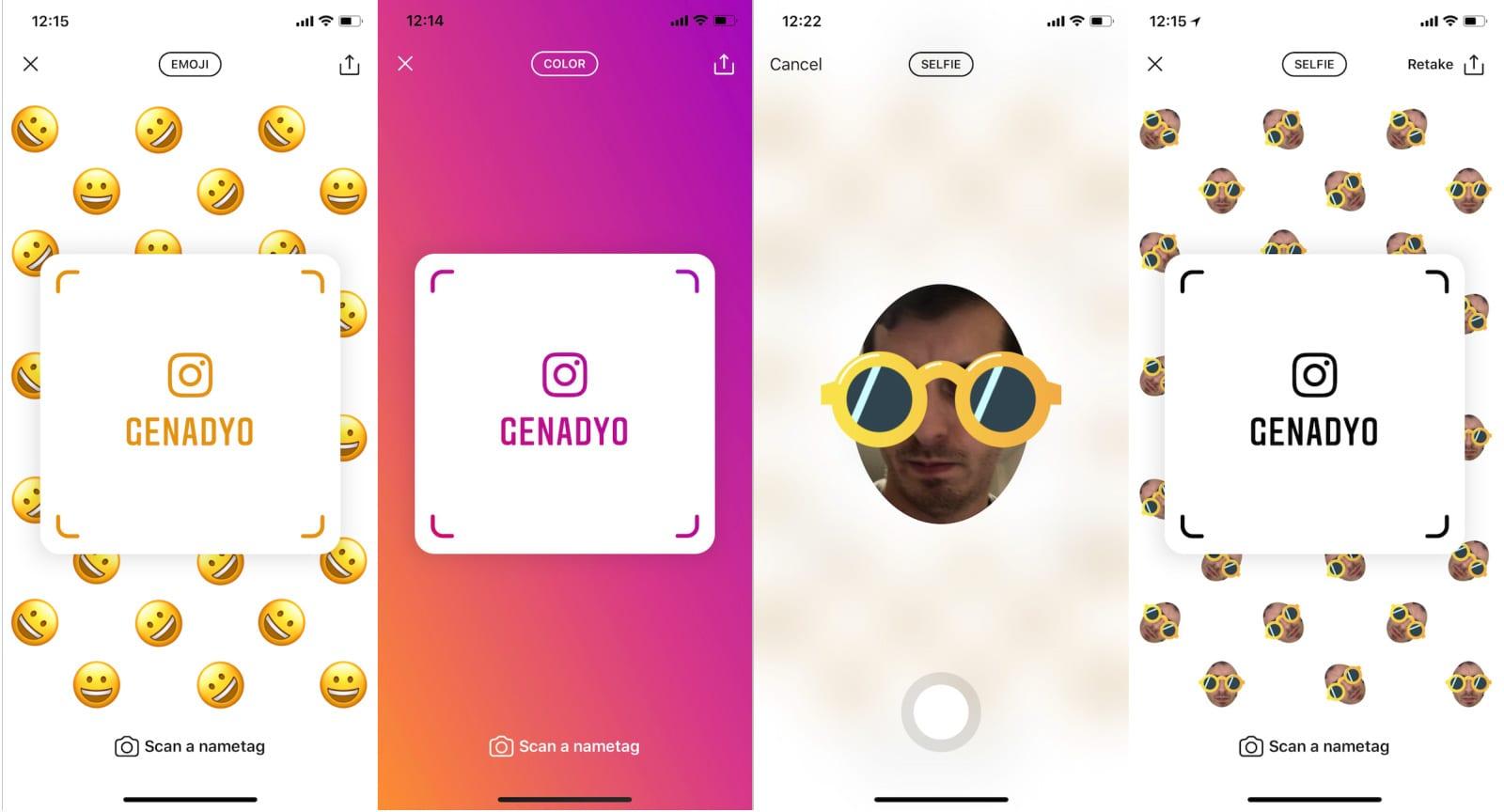 In arrivo i Nametags su Instagram, il clone degli Snapcode di Snapchat