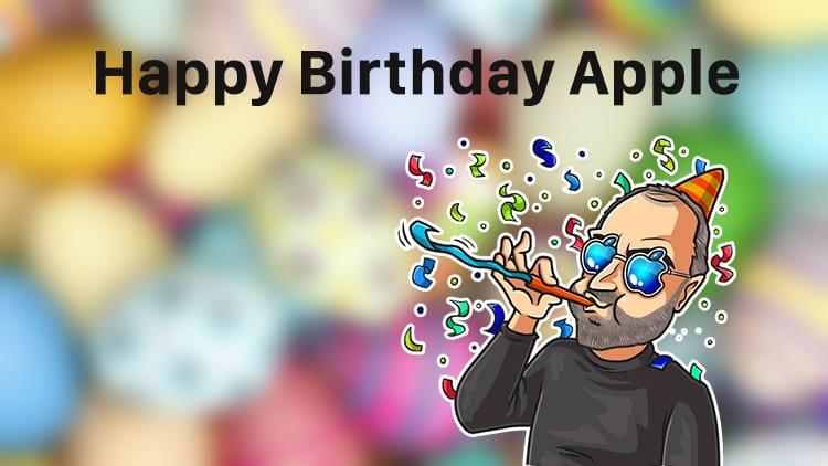 Tanti Auguri Di Buon Compleanno Ad Apple E Buona Pasqua A Voi Ispazio