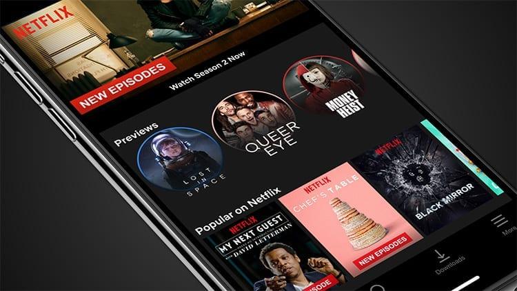 """Netflix: la funzione """"Anteprima"""" di Film e serie TV arriva su iOS"""