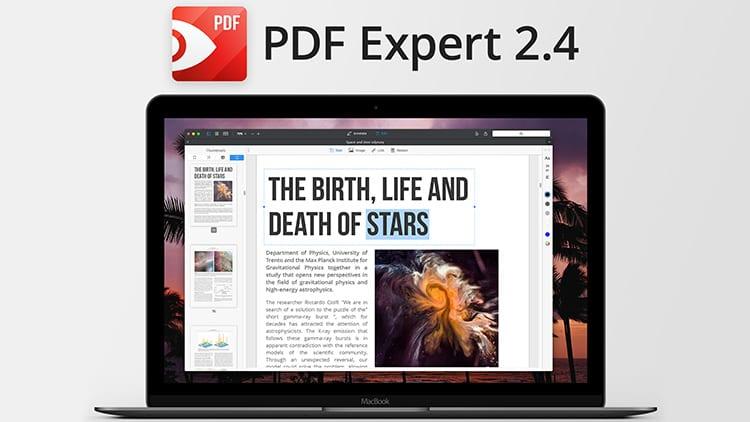 PDF Expert per macOS: disponibile la versione 2.4 con funzioni di conversione e migliore gestione dei contenuti