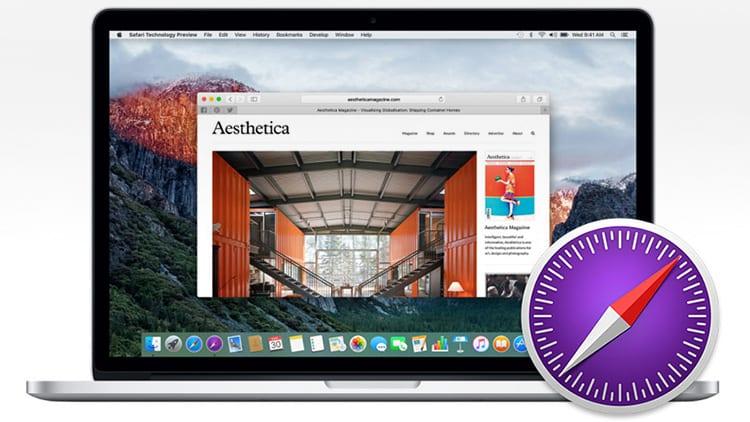 Safari Technology Preview: disponibile la versione 54 del browser sperimentale di Apple